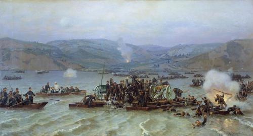 Переправа русской армии через Дунай